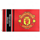 Manchester United Official Crest Football Flag 1520mm x 910mm (bst)
